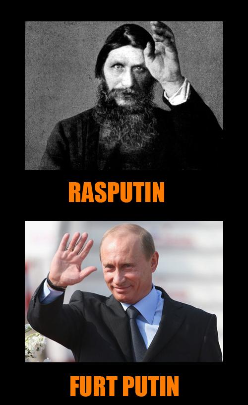 Rasputin vs Putin