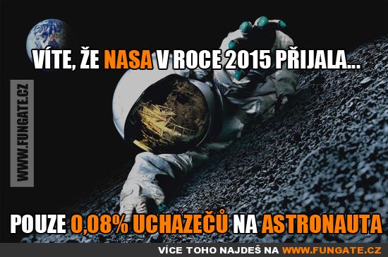 Víte, že NASA v roce 2015 přijala...