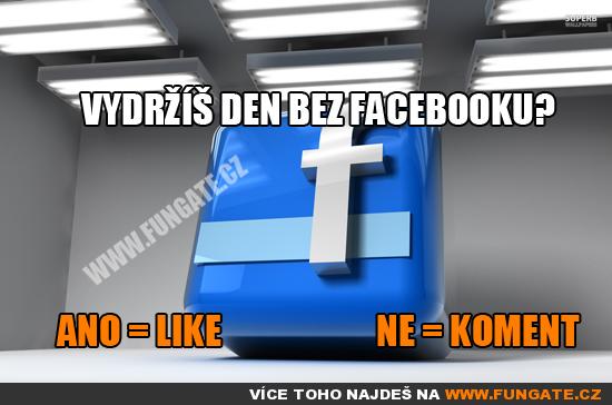 Vydržíš den bez Facebooku?