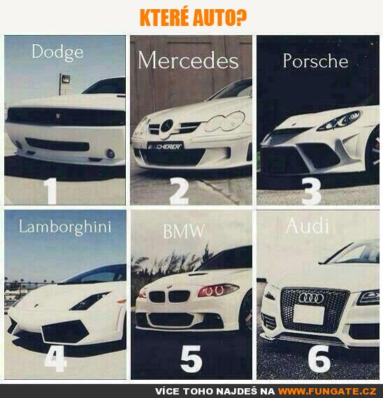 Které auto?