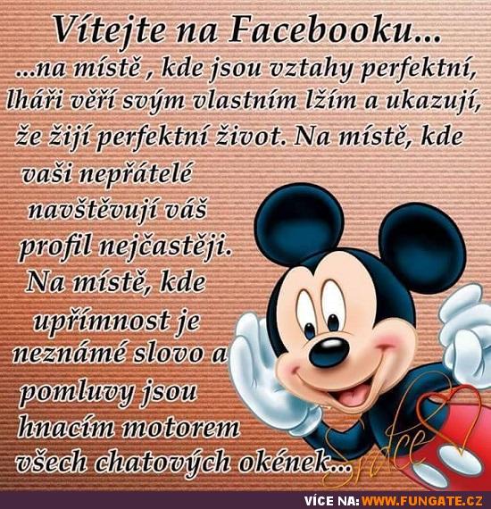 Vítejte na Facebooku...