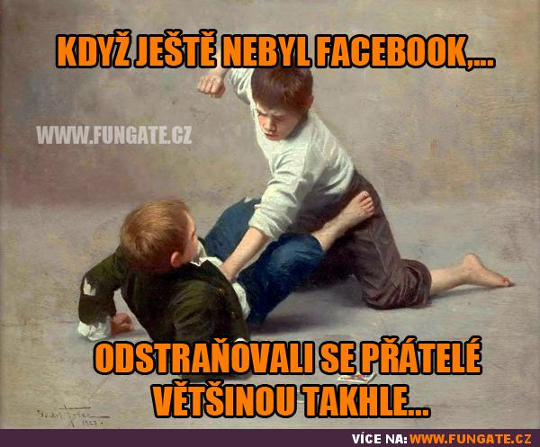Když ještě nebyl Facebook...