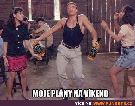 Moje plány na víkend