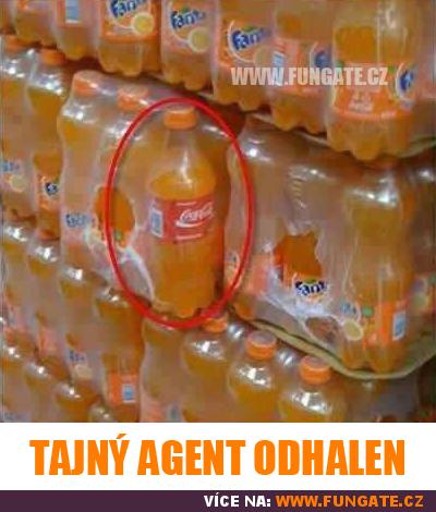 Tajný agent odhalen
