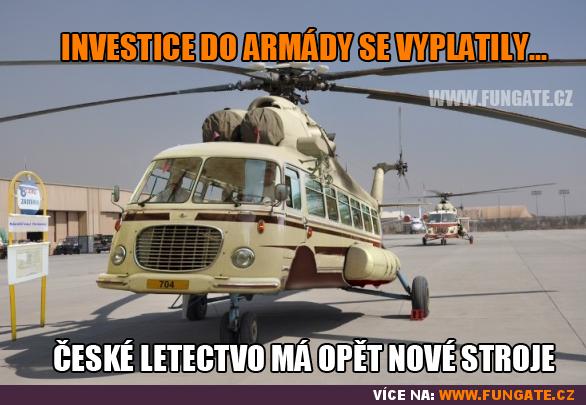 Investice do armády se vyplatily...