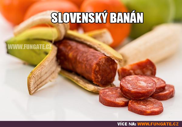 Slovenský banán