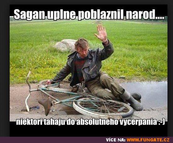 Sagan úplně pobláznil národ...